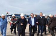 وزير النفط يعلن ان حقل شمال دمشق من المناطق الواعدة باحتياطي جيولوجي يقدر بـ 20 مليار م3 من الغاز