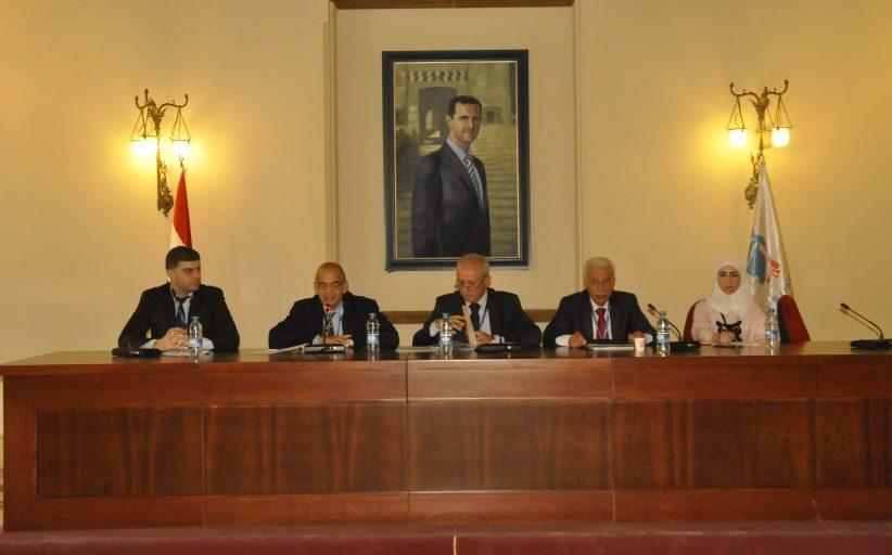 محور الإدارة ودور الدولة في ثالث جلسات المؤتمر الاقتصادي الاول لتجمع سورية الام