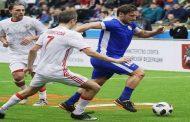 روسيا تتغلب على إيطاليا وتبلغ نهائي بطولة كأس الأساطير