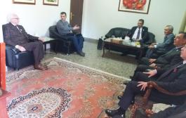 د. العرق يؤكد خلال زيارة وفد التجمع الى سفارة ارمينيا ضرورة زيادة المنح للدراسات العليا للسوريين