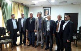 وفد تجمع سورية الأم  يزور نقابة أطباء سورية ويؤكد أهمية رصد ودراسة الواقع الصحي والطبي