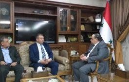 تجمع سورية الأم يقوم بجولة زيارات رسمية في سياق التحضيرات للمؤتمر الاقتصادي الثاني الذي سيعقد قريبا