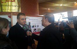 وفد تجمع سورية الام يشارك في معرض
