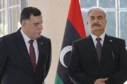 السراج يرفض التفاوض مع حفتر لإنهاء الحرب في ليبيا
