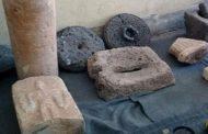 ضبط آثار في حمص أعدها المسلحون لتهريبها للخارج