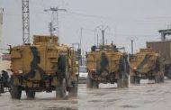 دفعة جديدة من التعزيزات العسكرية التركية تصل الحدود مع سورية