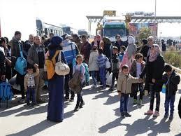 عودة دفعة جديدة من اللاجئين في مخيم الأزرق بالأردن إلى سورية
