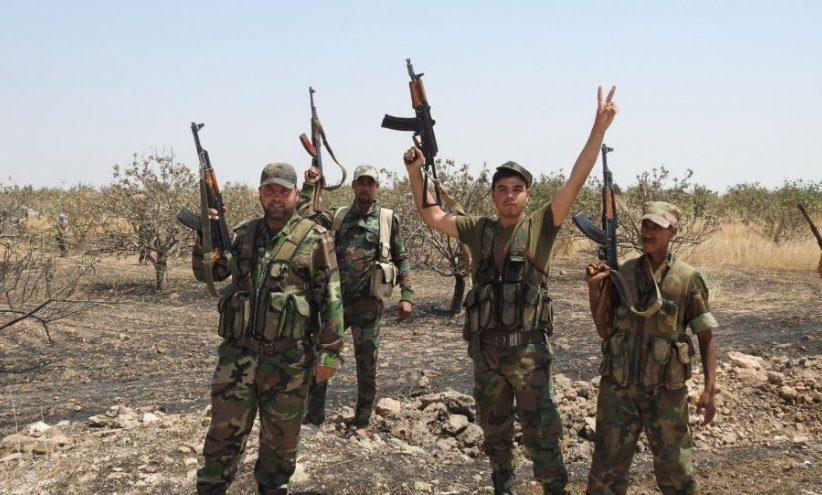 الجيش السوري يمشط خان شيخون بعد انسحاب معظم المسلحين منها