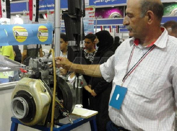مخترع سوري يبتكر محركاً يعمل بالهواء المضغوط دون وقود