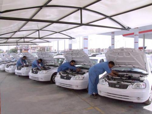 مجلس الوزراء يوافق على استراتيجية لتحويل آليات النقل العامة العاملة على البنزين